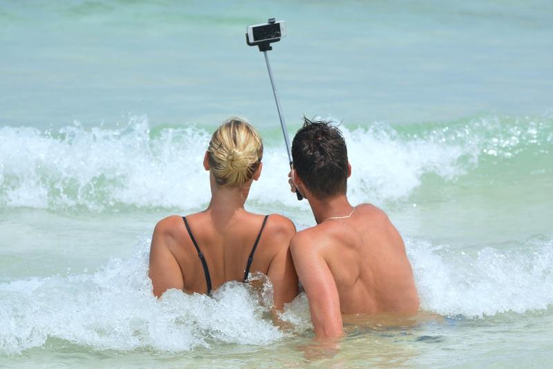 Selfie al mare